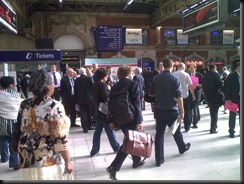 Southern Trains' Managers out getting feedback from commuters